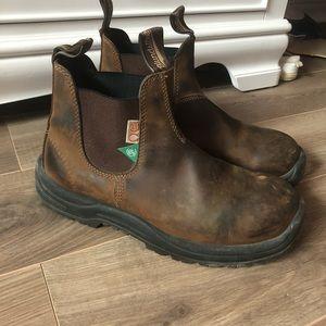 Blundstone Steel Toe Work Boots